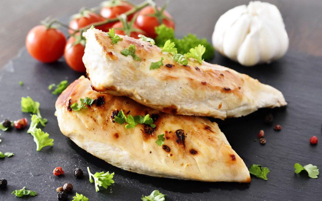 Hygieneregeln für Hühnchen-Fleisch