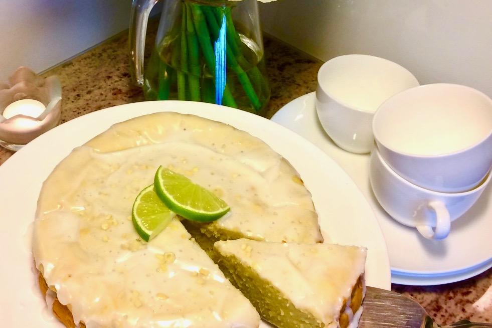 Mal anders: der Limetten-Avocado-Kuchen