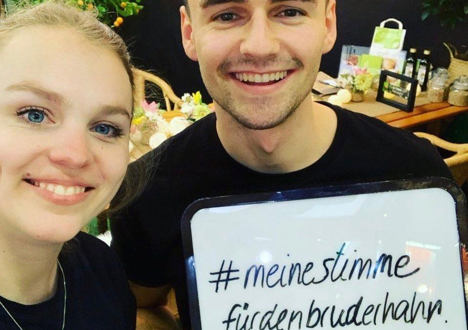 haehnlein startet Kampagne #meinestimmefürdenbruderhahn