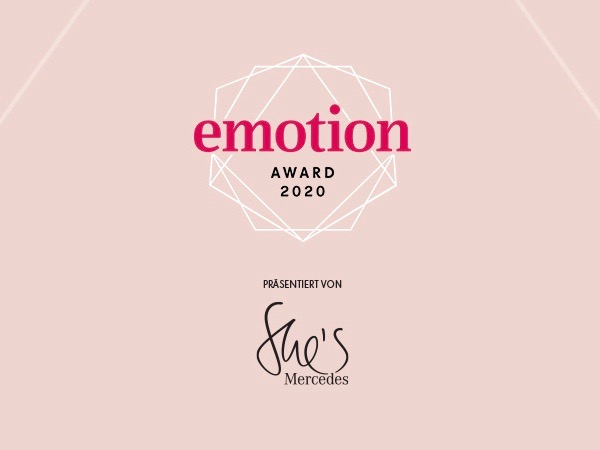 EMOTION AWARD 2020: Wir sind nominiert!