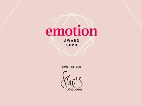 EMOTION AWARD 2020: Wir sind nominiert!