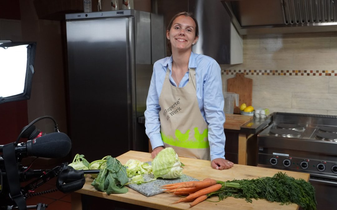 Kochschürze aus der Heimatküche zu gewinnen